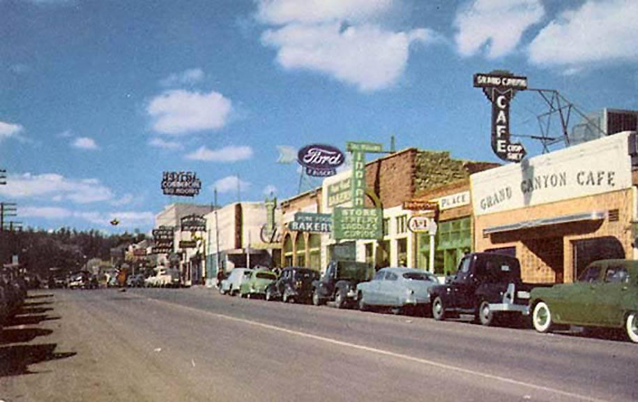 Historic Route 66, circa 1950